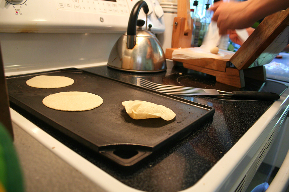 Making Corn Tortillas