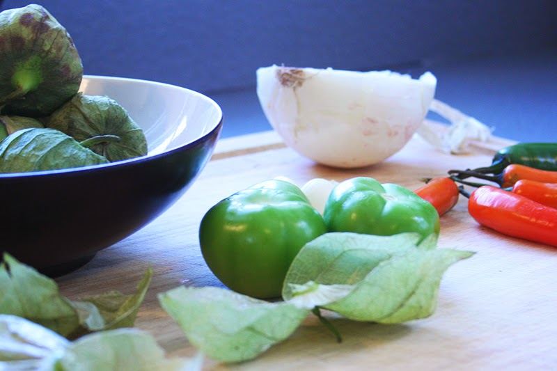 Tomatillo Salsa Ingredients