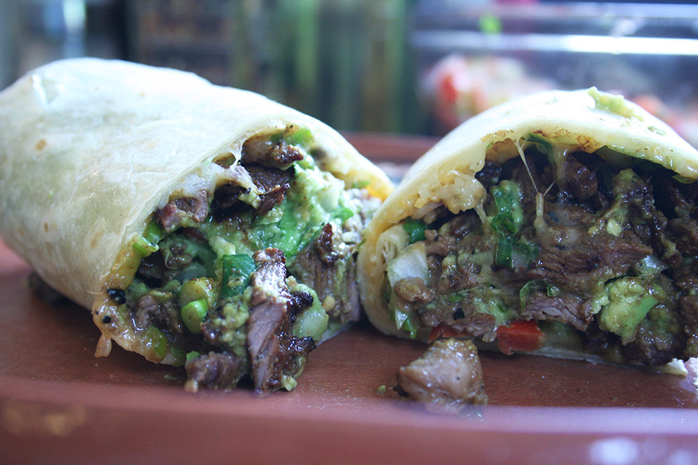 Top Sirloin Carne Asada Burrito Recipe — Dishmaps