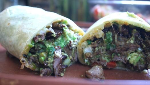 Carne Asada Burrito (Taco Shop Style)