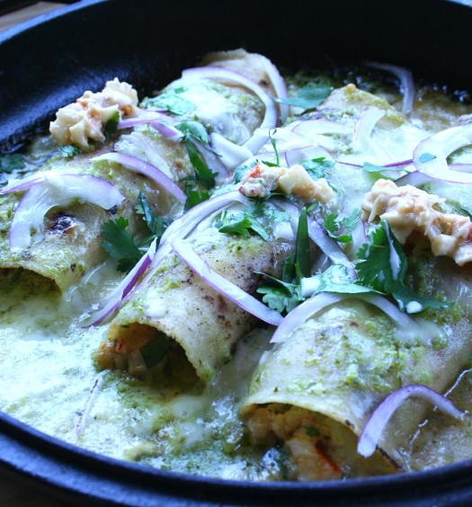 Lobster Enchiladas