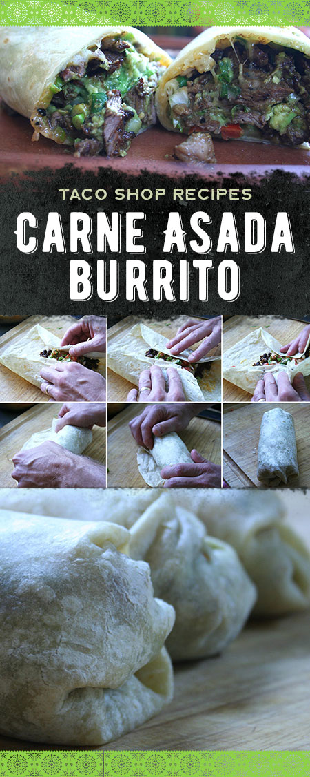 Taco Shop Carne Asada Burrito