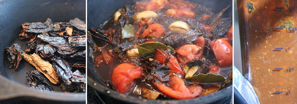 Stewing Peppers and Tomatoes for Sauce