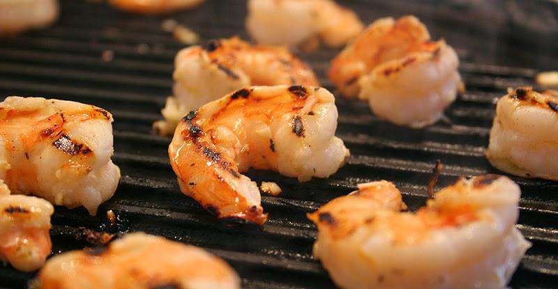 Shrimp Grilling