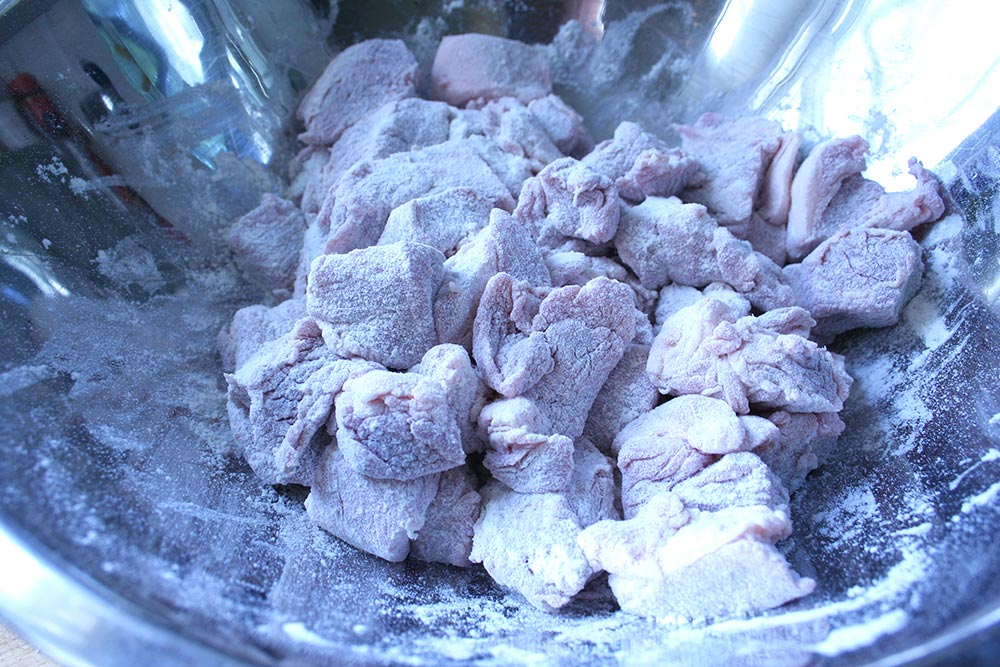 Floured Pork