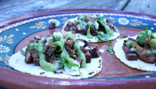 Carne Asada Tacos (Tijuana Street Style)