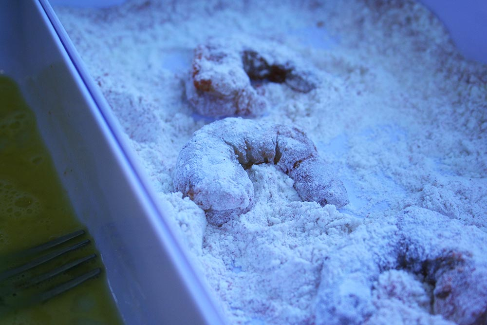 Shrimp in Flour