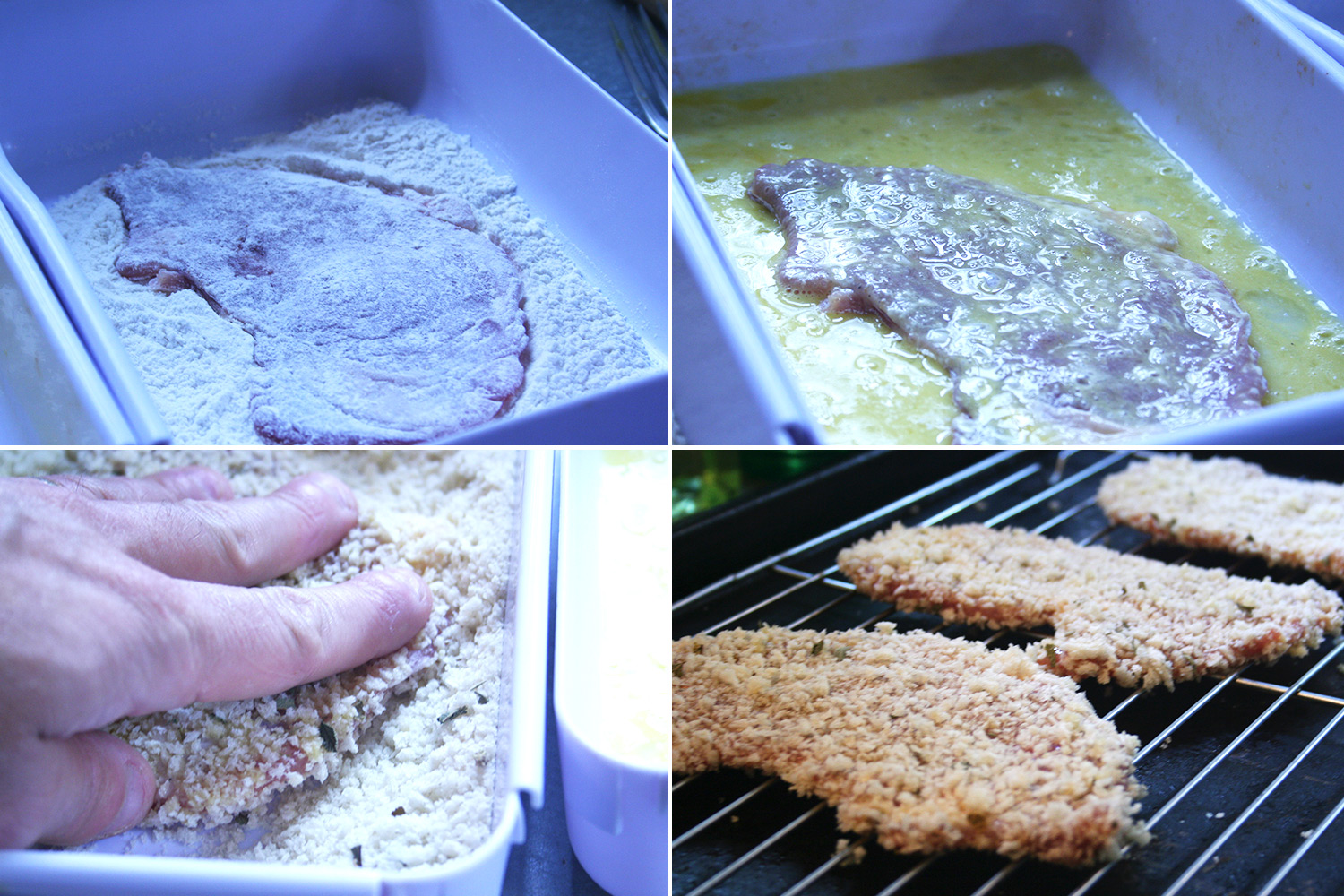 Breading Pork Cutlet