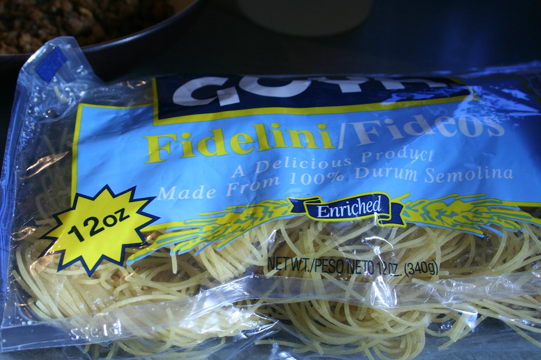 Fideo Pasta
