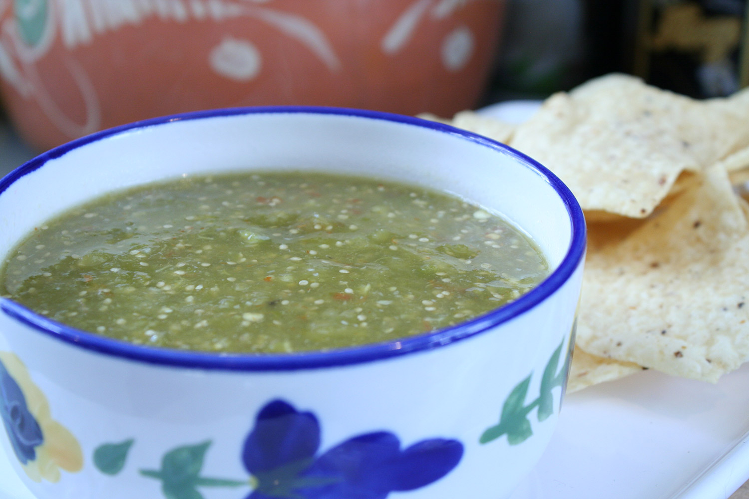 Simple Salsa Verde - Carne and Papas