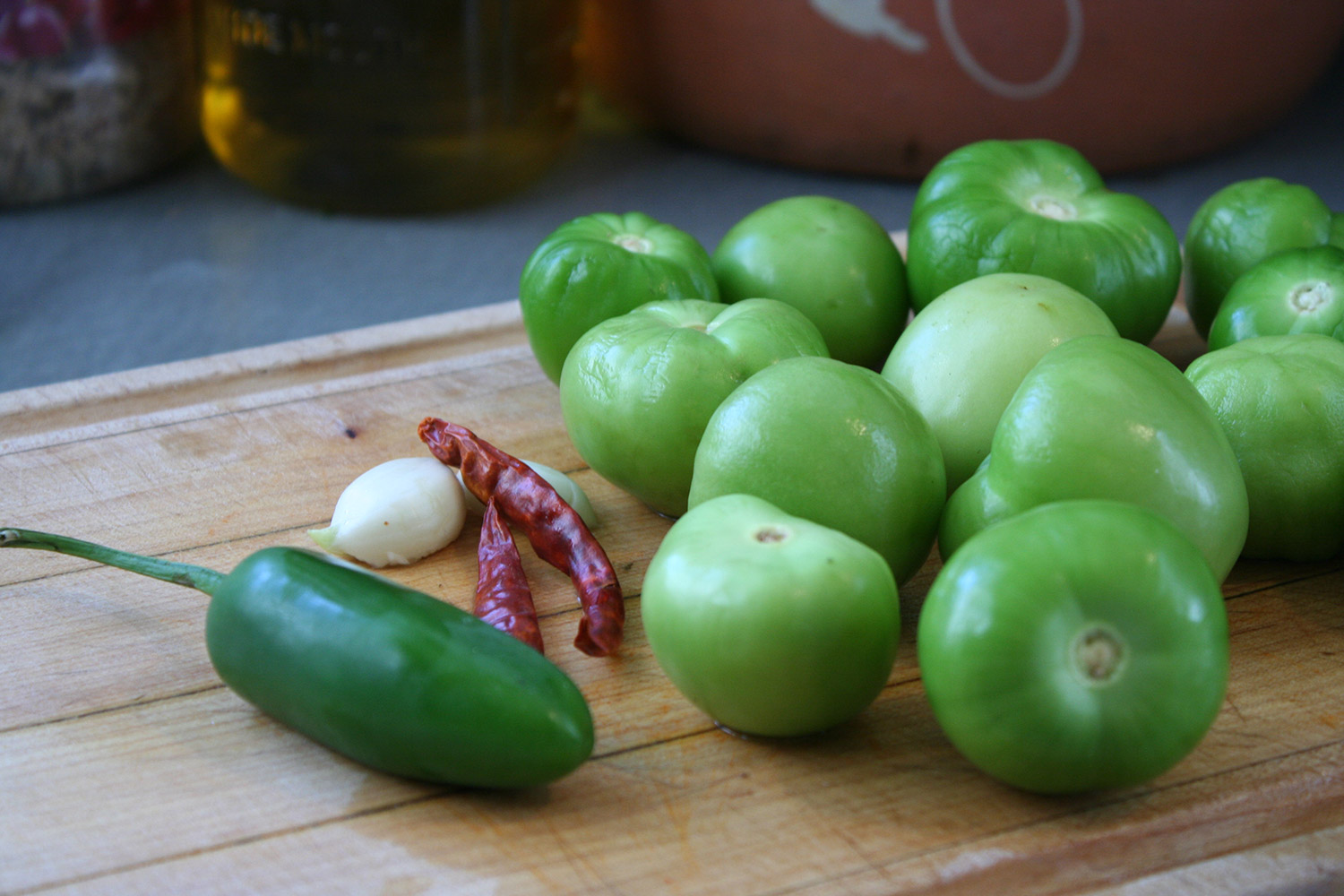 Salsa Verde Ingredients