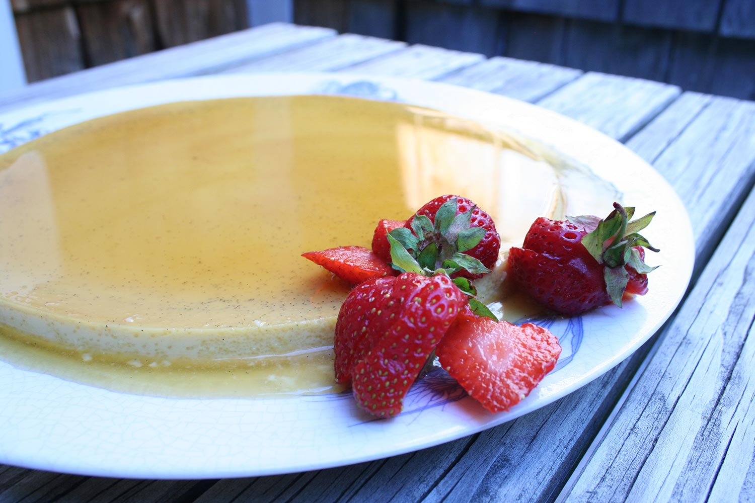 Finished Classic Flan