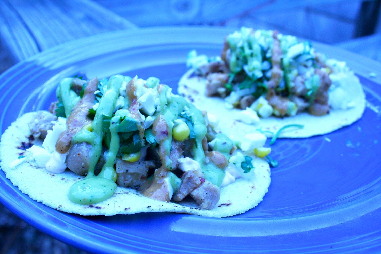 Pollo Asada Tacos