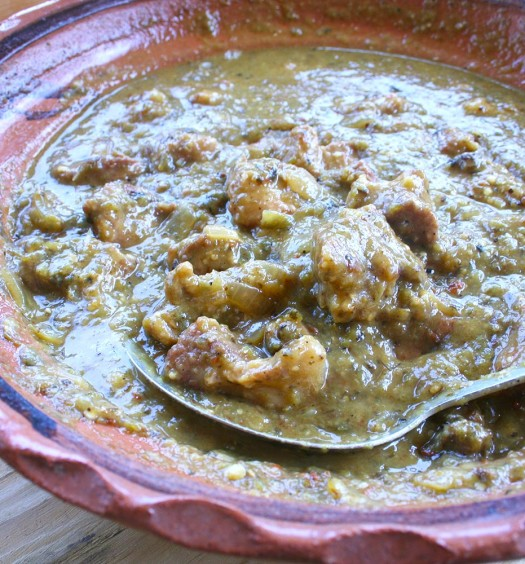 Braised Pork in Salsa Verde