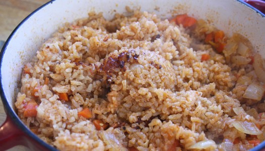 Mexican Red Rice (Arroz Rojo)