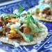 Sweet Potato Chorizo Corn Tacos