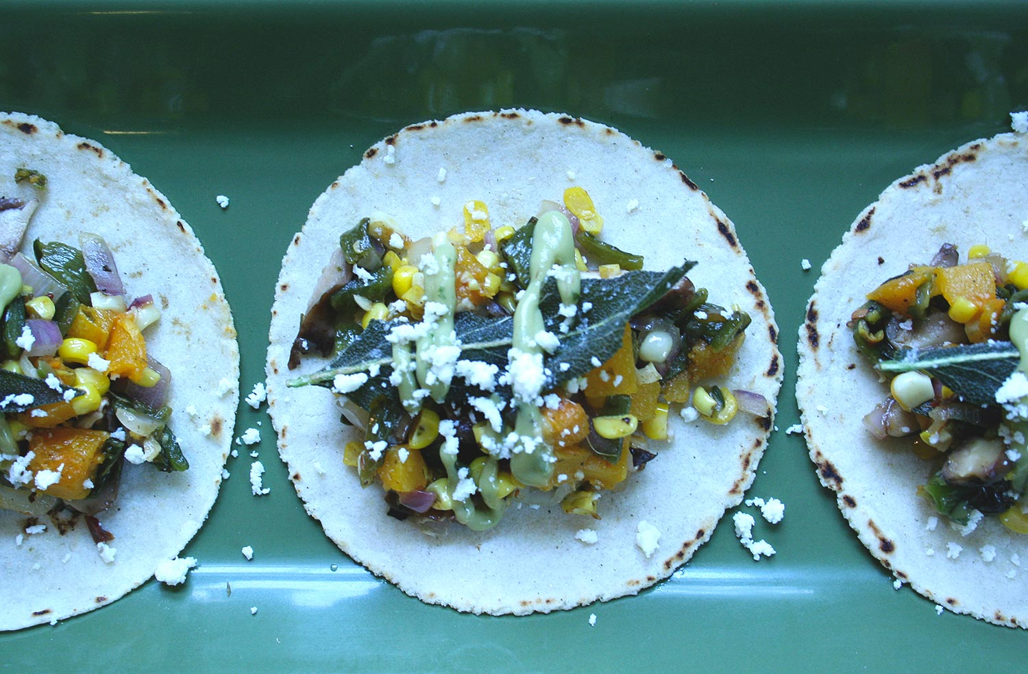 Summer Vegetable Tacos
