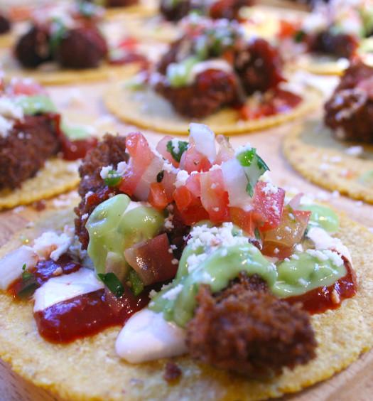 Chicken Fried Steak Tacos