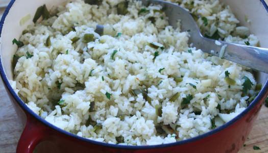 Poblano Rice