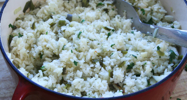 Final Poblano Rice