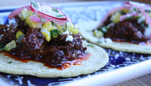Hard Cider Braised Short Rib Tacos